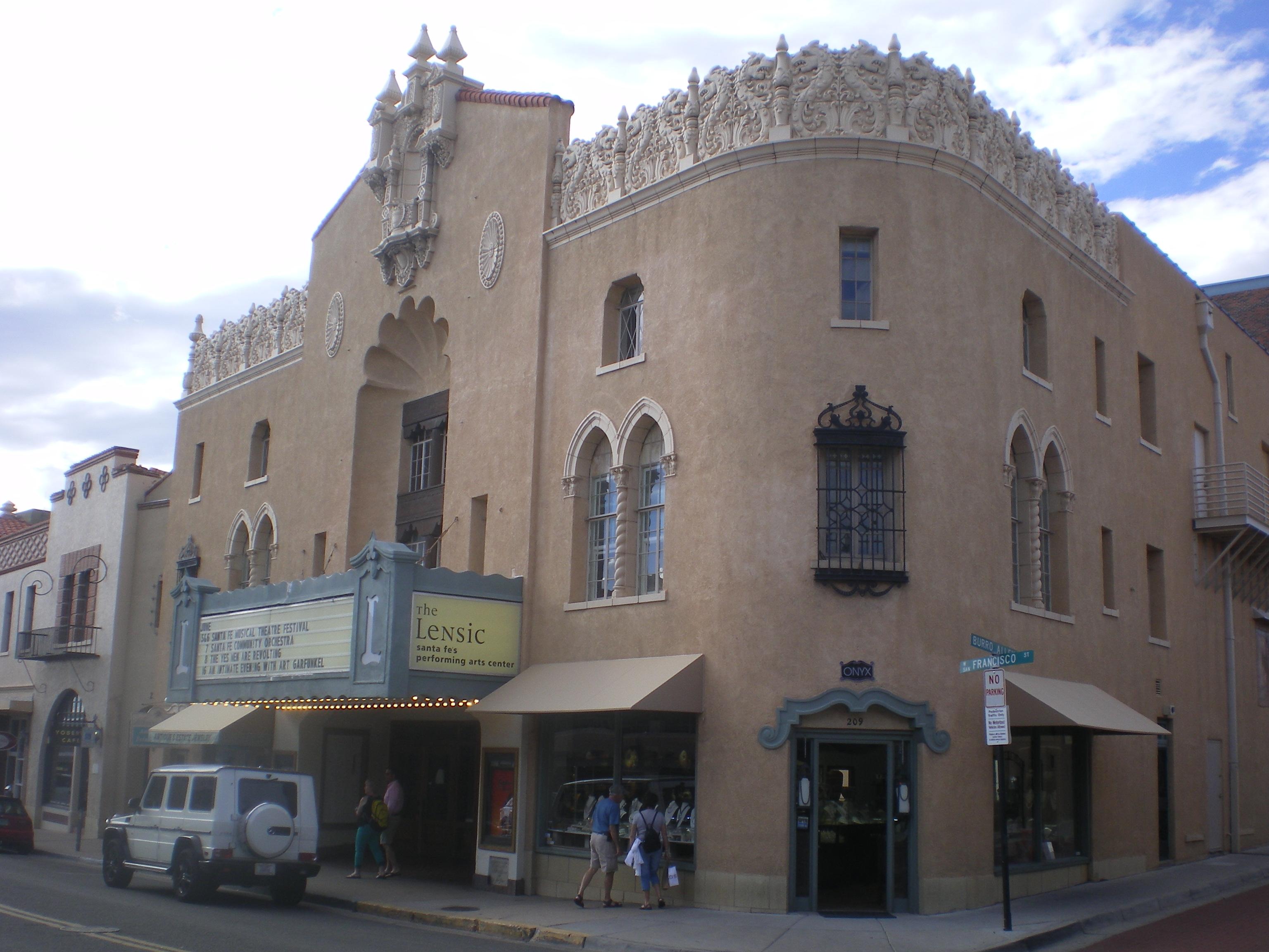Il centro di Santa Fe