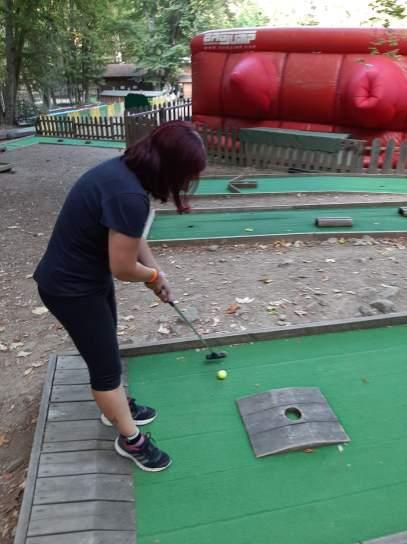Vittoria a Mini Golf